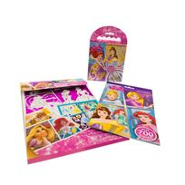 Princesse - Mega set de coloriage et stickers Princesses de Disney
