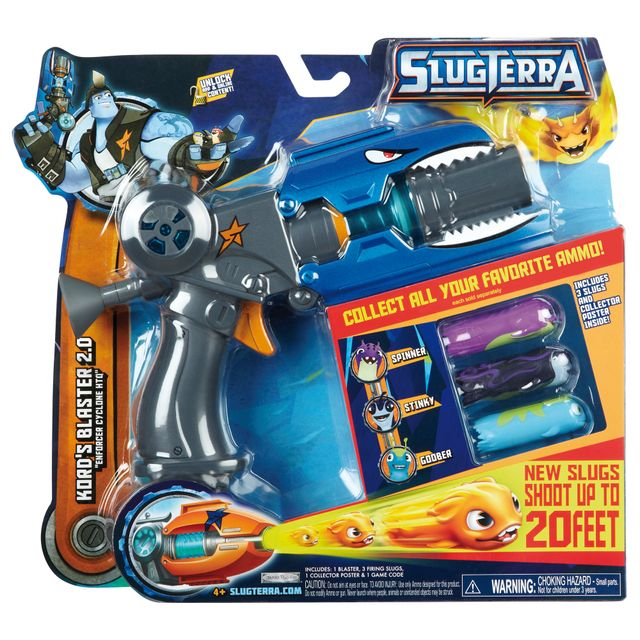 Slugterra pistolet st deluxe blaster avec 3 slugs 8021 - Jeux slugterra gratuit ...