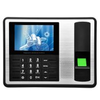 Yonis - Pointeuse horaire badgeuse écran 4 pouces biométrie contrôle d'accès
