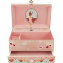 Ulysse - Boîte à Bijoux Musicale avec tiroir Libellule