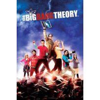 Pyramid - The Big Bang Theory Poster Season 5 61 x 91 cm
