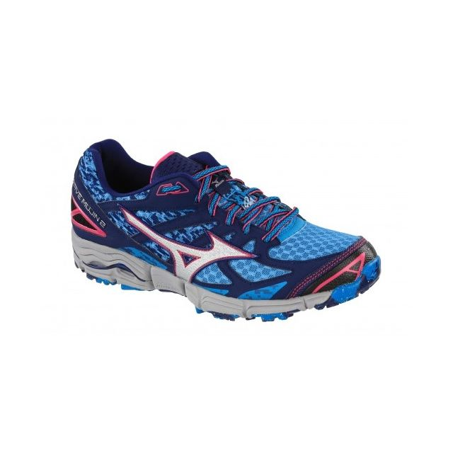 Mizuno wave mujin 2 bleue chaussures de <strong>trail</strong> femme