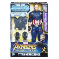 HASBRO - INFINITY WAR - FIGURINE TITAN POWER PACK 30 CM CAPTAIN AMERICA-E06071010