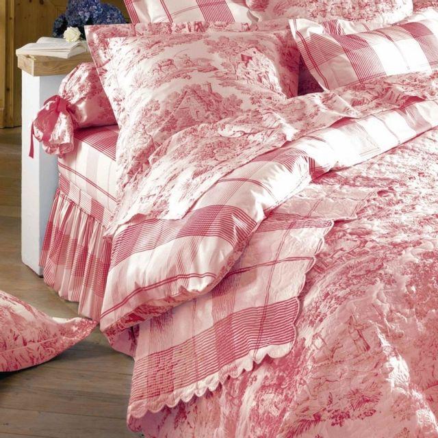 100pourcentcoton housse de couette 260x240 cm 2 taies d 39 oreiller 65 x 65cm fabrication fran. Black Bedroom Furniture Sets. Home Design Ideas