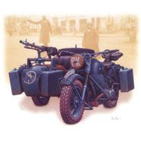 Master Box - Maquette Moto allemande Bmw R75 avec side-car