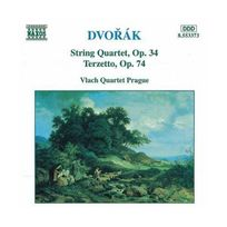 Naxos - Dvorak : Quatuor à cordes Op. 34 - Terzetto, Op. 74