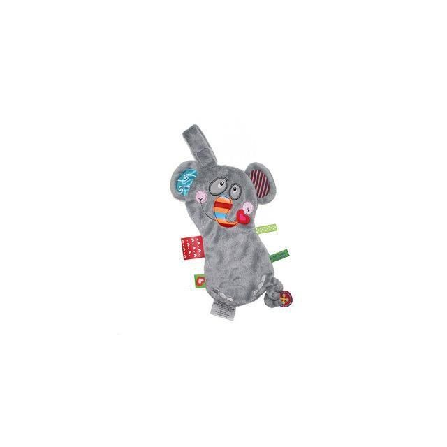 Label Label - Doudou attache sucette friends elephant