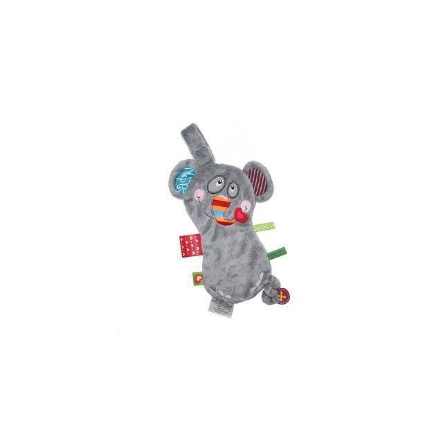 Label Label - Doudou attache sucette friends elephant