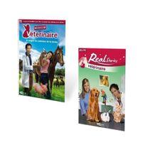 Mindscape - Pack 2 Jeux Real Stories Vétérinaire, Mission Vétérinaire - Pc