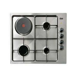 Faure table mixte lectrique gaz fgm63444xa achat plaque - Table de cuisson mixte gaz electrique ...
