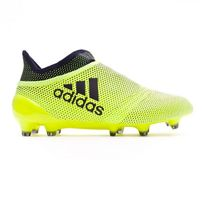 Adidas - Chaussure de football Jr X 17+ Purespeed Fg Solar yellow-Legend ink Taille 38