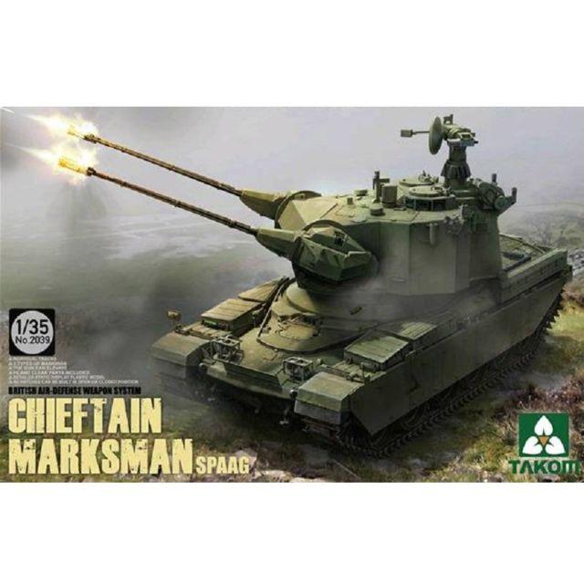 Takom Maquette char britannique : Chieftain Marksman Spaag