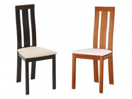 vente unique lot de 2 chaises domingo htre massif weng wengu pas cher achat vente chaises rueducommerce - Vente De Chaises