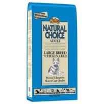 Nutro Natural Choice - Croquettes au Poulet et Riz pour Grand Chien Adulte - 12Kg