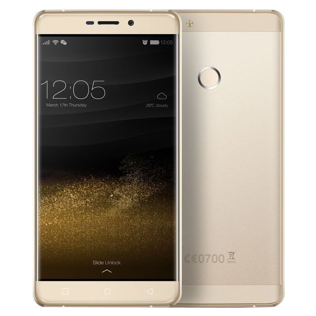 Yonis Smartphone Octa Core 4G Android 6.0 2Ghz 4Go Ram 5.5' Fhd 32Go Or