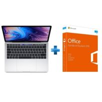 APPLE - MacBook Pro 13 Touch Bar - 256 Go - MR9U2FN/A - Argent + Office Famille & Etudiant 2016 Mac