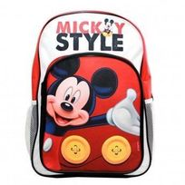 Mickey Mouse - Sac à dos Mickey 42cm Maternelle et Primaire