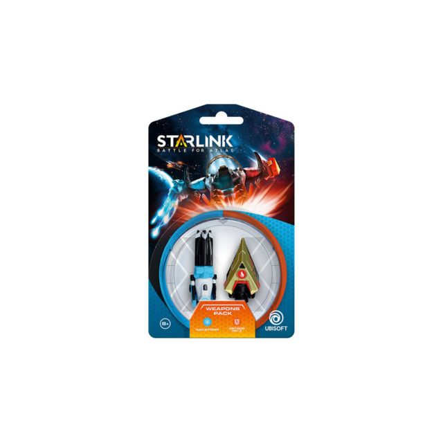 UBISOFT STARLINK BATTLE FOR ATLAS WEAPON PACK HAIL STORM + METEOR Date de sortie : 16/10/2018 - Attention : STARTER PACK REQUIS