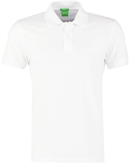 Hugo Boss - Polo Firenze blanc - pas cher Achat   Vente Polo homme -  RueDuCommerce 17441847ca4b