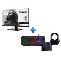 G2530HSU-B1 24,5'' 1ms - FreeSync + COMBO ARGON Pack Complet