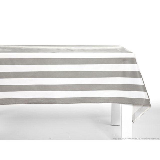 comptoir des toiles nappe 100 coton enduit traitement. Black Bedroom Furniture Sets. Home Design Ideas