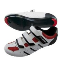 Exustar - Chaussures Esr4038 route blanc rouge