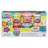 Playdoh - Play-doh 6 Pots Confetti Pâte a modeler