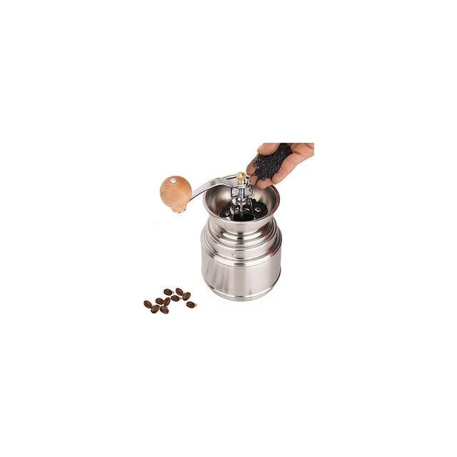 Alpexe Moulin à Café, grain, poivre, sel, ble pour farine Acier Inoxydable