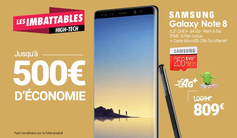 Jusqu'à 500 € d'économie sur une sélection High-Tech !