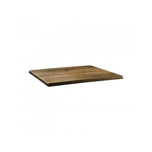 Topalit Plateau de table rectangle - 110cm x 70cm - Atacama cherry - Atacama cherry 1100 mm
