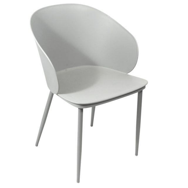 Alison Gris Coque Design Fauteuil À HEDIe9W2Y