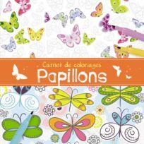 1.2.3 Soleil! - Carnet de coloriages : Papillons