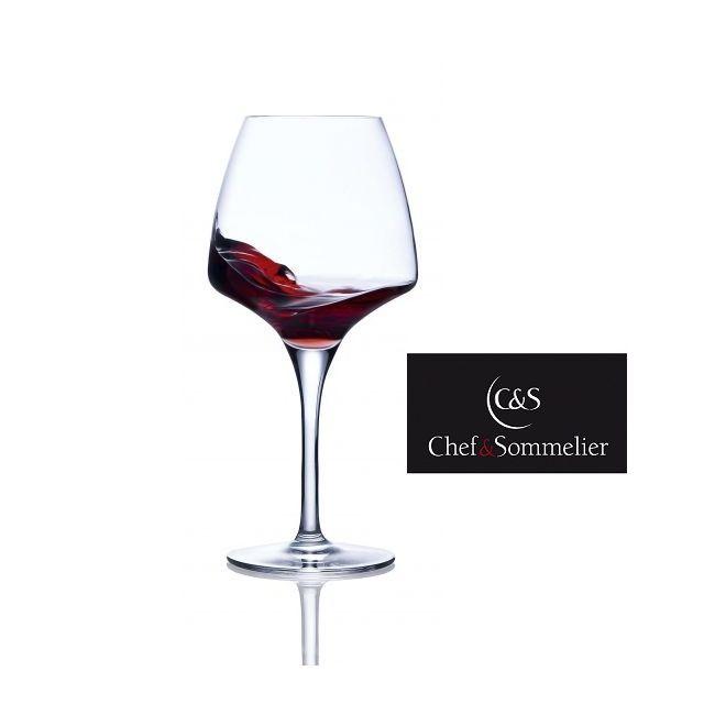 Chef & Sommelier Contenance : 32 cl - Hauteur : 180 mm - Poids : 115 g/verre - Boîte de 6 verres - Etudié pour être à la fois technique e