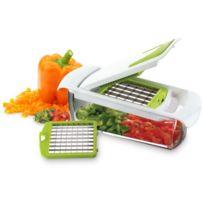 Yoko Design - Coupe légumes avec bac récupérateur