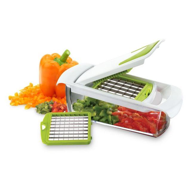 YOKO DESIGN Coupe légumes avec bac récupérateur