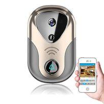 SecuriteGOODdeal - Interphone Vidéo Wifi connectée avec sonnette intérieure