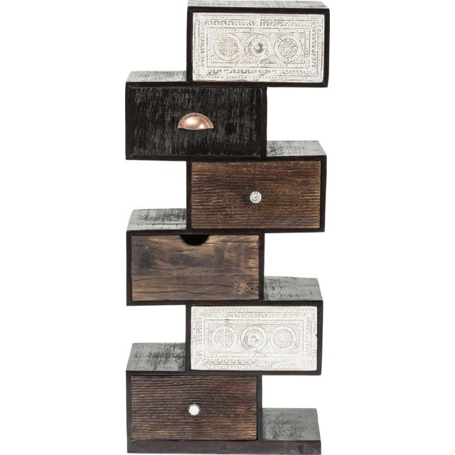 Karedesign Chiffonnier Zig Zag Finca 6 tiroirs Kare Design