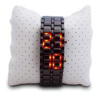 Totalcadeau - Montre bracelet en métal à Led digital