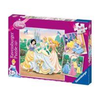 Ravensburger - 94110 - Puzzle - 3X49 PiÈCES RÊVES De Princesses - Disney Princess