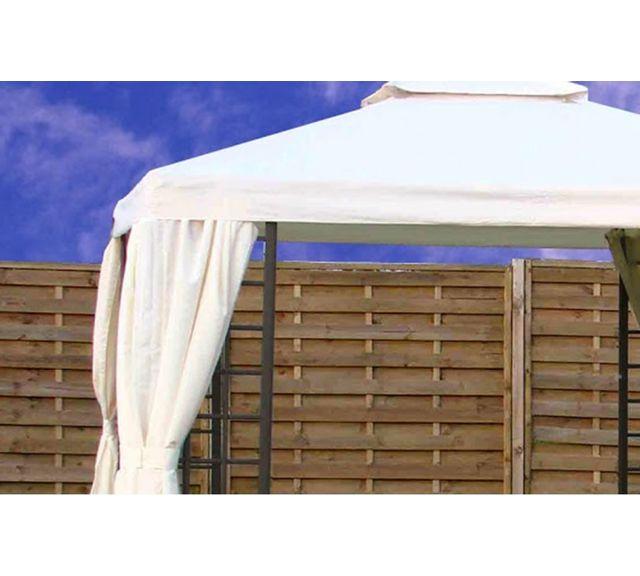 dcb garden toile de toit pour tonnelle t08 aluminium 3 x. Black Bedroom Furniture Sets. Home Design Ideas