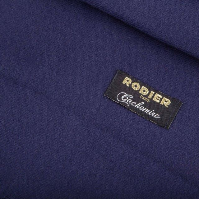 Rodier - Echarpe cachemire Rose 180cm x 67cm Femme Bleu Fonce - pas cher  Achat   Vente Echarpes, foulards - RueDuCommerce 0c13701e8eb