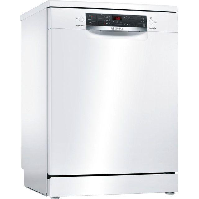 Bosch Lave-vaisselle SuperSilence - SMS45GW00E - Blanc
