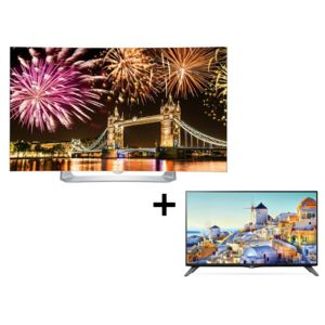 lg pack oled 55eg910 40uh630v pas cher achat vente tv led de 50 39 39 55 39 39 full hd. Black Bedroom Furniture Sets. Home Design Ideas