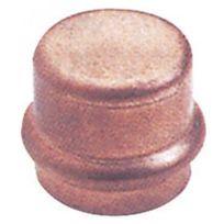 Viega - Bouchon cuivre femelle à sertir - diamètre 42