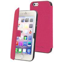 Muvit - Etui folio Made in Paris rose iPhone 6 4.7 pouces