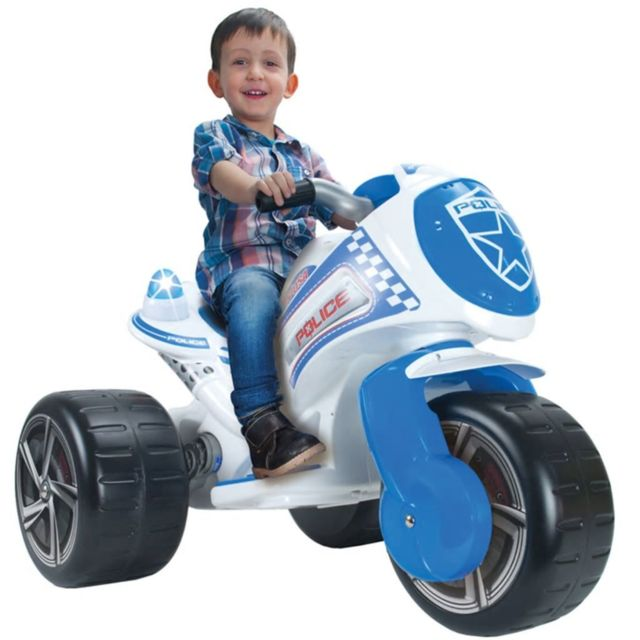 Injusa Tricycle de police 6 V 7293