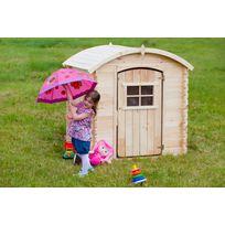 Maisonnette clochette en bois pour enfant - M505