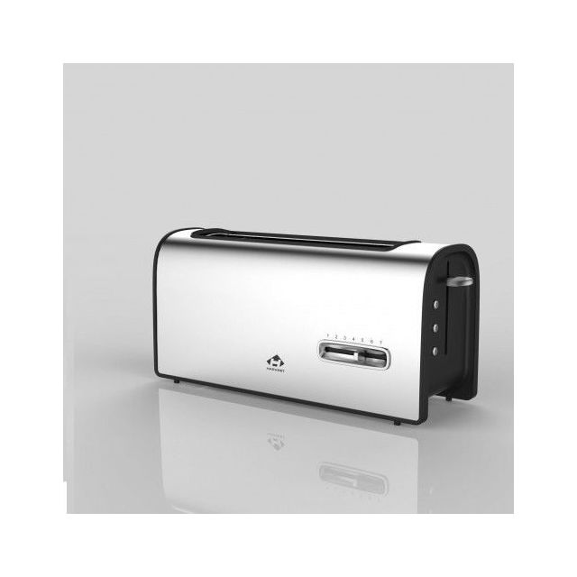 MANDINE Toaster - MT7011SL-17 - Silver