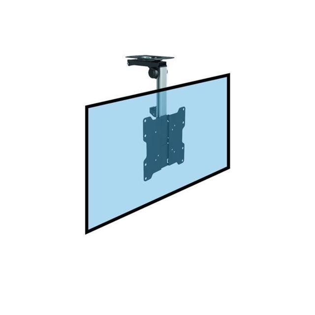 kimex support plafond escamotable pour cran tv 17 39 39 37 39 39 haut 27 40cm pas cher achat. Black Bedroom Furniture Sets. Home Design Ideas