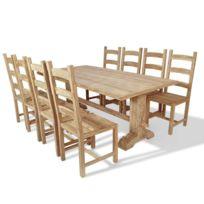 ensemble table et chaises de cuisine catalogue 2019. Black Bedroom Furniture Sets. Home Design Ideas